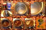 Modèle meilleur que le distributeur automatique F302tr de café turc de Dg-808FM