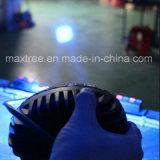 محترفة زرقاء رافعة شوكيّة [ورنينغ ليغت], [9-80ف] [لد] [سفتي ليغت] بيضويّة