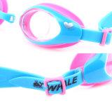 Kind-bunte Anti-Fog Silikonswim-Schutzbrillen