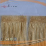 100% Cheveux humains non traités Long Virgin Hari Handtied Top Skin Wefts