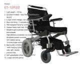 A cadeira de rodas de dobramento nova da potência, Ce de pouco peso Handicapped de dobramento aprovou 8 '' 12 '' 1 segundo cadeira de rodas elétrica de dobramento da potência