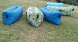 ナイロンRipstopのバナナの寝袋の膨脹可能な空気ベッド不精な袋(M311)