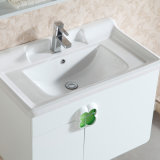 Vanidad de cerámica del cuarto de baño de madera sólida de la alta calidad de la encimera