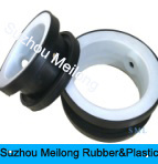 Customized Butterfly PTFE + EPDM Valve Seat Certified NSF para Controle de Fluidos