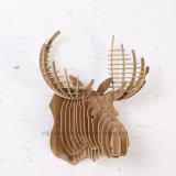 Деревянные корабли творческое DIY самонаводят висеть оленей украшения головной