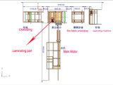 PE van pp Hete het Lamineren van de Uitdrijving van de Smelting Machine