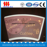 Taza de papel de consumición caliente caliente de la taza de papel de la venta