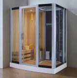 sauna combiné par vapeur de 1800mm avec la douche (AT-D8853-1)