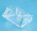 Caixa transparente da bolha do alimento do PVC