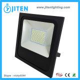 새로운 디자인 100W LED 투광램프, 방수 호리호리한 주거 IP65