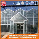 Casa verde de vidro de jardim vegetal da flor