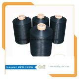 la buena firmeza 70d/24f/2 teñió el hilado de nylon del alto estiramiento del 100% para los calcetines