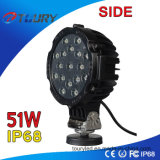CREE 51W Acessórios para peças automotivas para caminhão UTV LED Work Light