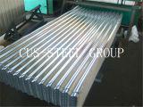 Zink-überzogenes Umhüllung-Profil/Metallgewölbtes Dach-Blatt