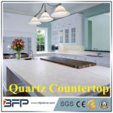 Countertops сляба камня кварца зеркала Whited Sparkle искусственние