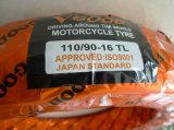 Pneumático sem câmara de ar transversal 130/90-15 110/90-16 da motocicleta