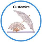 Ombrello nuziale della mini del cotone del merletto decorazione sveglia Handmade elegante di cerimonia nuziale