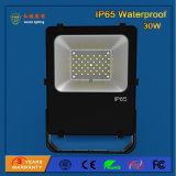 High Power 110lm / W 30W Outdoor SMD LED Floodlight para construção