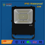 High Power 110lm / W 30W Outdoor SMD LED Floodlight para construção