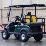 後部席およびライトが付いている4つのシート車のゴルフカート