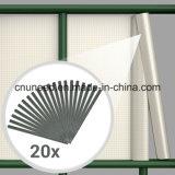 좋은 품질 Ral7016 450g 19cm*35m PVC 지구 스크린 정원 담