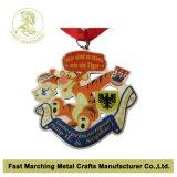 L'acciaio inossidabile ha stampato la medaglia, medaglione di sport di carnevale del ricordo del premio