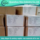 180-230mmの高品質の赤ん坊のおむつの原料の織物の正面テープ
