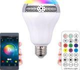 2017 altoparlante popolare di Bluetooth della lampadina di controllo 4.0 LED di APP