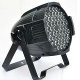 Vendita calda l'indicatore luminoso professionale di PARITÀ dell'alluminio 54PCS LED della strumentazione di karaoke di ultimi prezzi