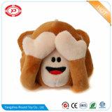 Monkey Stuffed Toy Plush Custom Magnet Travesseiro engraçado do presente dos miúdos
