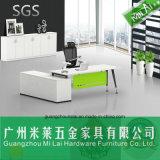 Moderner Stahlfuss-Büro-Möbel-hölzerner Schreibtisch