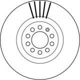 Disque de frein de composants de frein de pièces d'auto