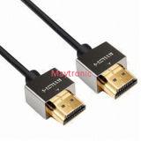 2.0 para 3D, 4k, 2160p, 18gbps adelgazan el cable de HDMI