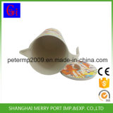 Bouilloire de l'eau de fibre de Biodegradabel/cuvette en bambou de boissons