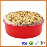 Лоток торта выпечки силикона микроволны безопасный