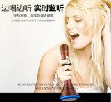 K1スピーカーが付いている安いホームKTV無線Bluetoothカラオケのマイクロフォン