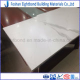 El panel de piedra natural blanco del panal del azulejo del granito/del mármol para el uso del suelo