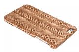 Gesponnener Muster-Griff-Rückseiten-Telefon-Deckel-Kasten für iPhone7