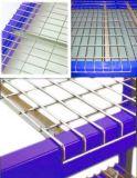 Decking personnalisé de treillis métallique pour le défilement ligne par ligne de palette