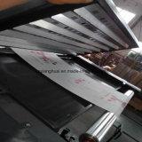 Impresora flexográfica no tejida de papel bicolor de Fabic del plástico
