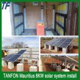 sistema independente do armazenamento de energia 5kw solar para o interruptor de potência da grade