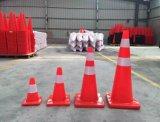 cono de la barrera de la seguridad en carretera de los 47cm