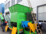 Überschüssige Plastikfilm-Reißwolfmaschine des PET für waschende Zeile