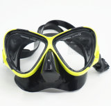 Matériel de plongée à l'air, procès de plongée pour le masque, prise d'air, ailettes