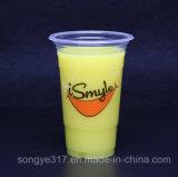 Bebida quente de suco de fruta transparente Copo de bebida quente