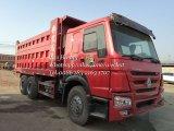 사용된 375HP Sinotruk HOWO 덤프 팁 주는 사람 트럭