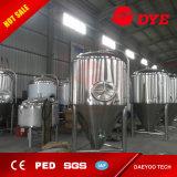 20-2000 Tank van de Gister van het Bier van het Jasje van de Glycol van het Roestvrij staal van de gallon de Kegel