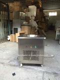 Máquina comercial do gelado da fritada com a 1 bandeja redonda