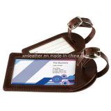 Tag de couro personalizado da bagagem do PVC da qualidade superior para o curso