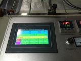Automatischer biodegradierbarer Plastikeinkaufen-Shirt-Hochgeschwindigkeitsbeutel, der Maschinen-Preis bildet